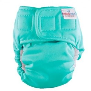 Bubblebubs Pebbles Newborn Nappy Teal