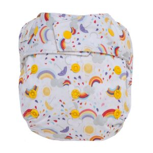GroVia Snap Shell Rainbow Baby