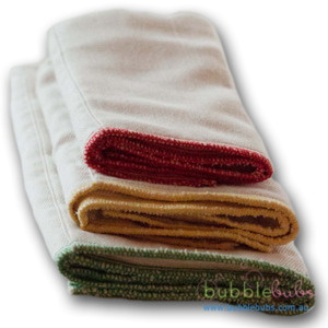 Bubblebubs Unbleached Cotton prefolds