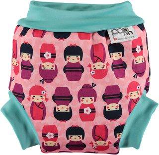 Pop-in Swim Nappy Kokeshi Dolls