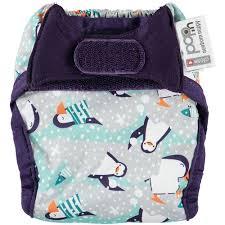 Newborn Pop-in nappy Winter Penguin