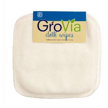 GroVia Cloth Wipes