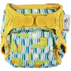Pop-in Bamboo Nappy V2 Crocodile