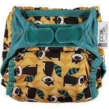 Pop-in Bamboo Nappy V2 Raccoon