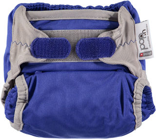 Pop-in bamboo nappy Princess Blue