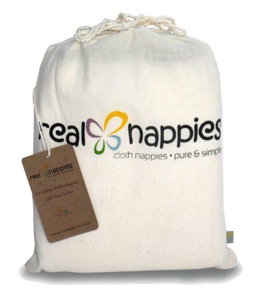 Real Nappies Birdseye Cotton Flat Nappies