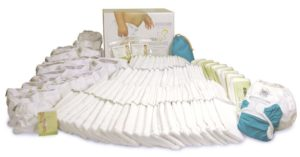 Birth to Potty pack Real Nappies