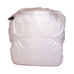 Real Nappy Cover White