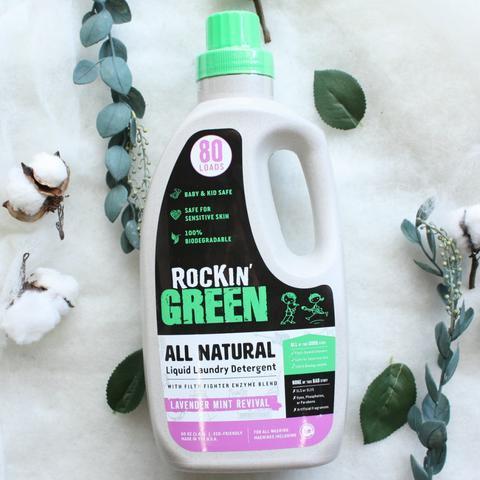 Rockin Green Liquid Detergent