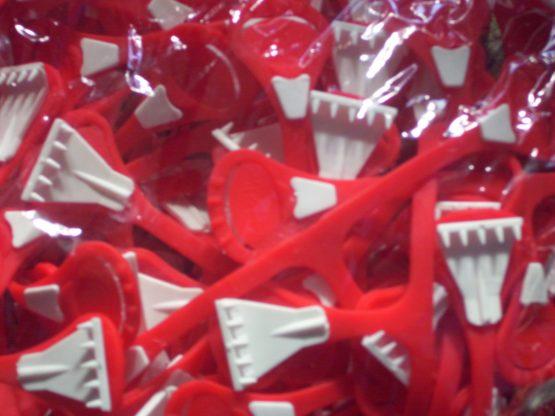 Snappi Nappy Fastener Red