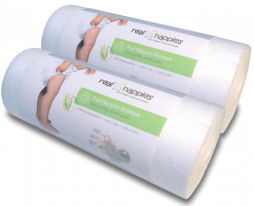 twin pack real nappies liners