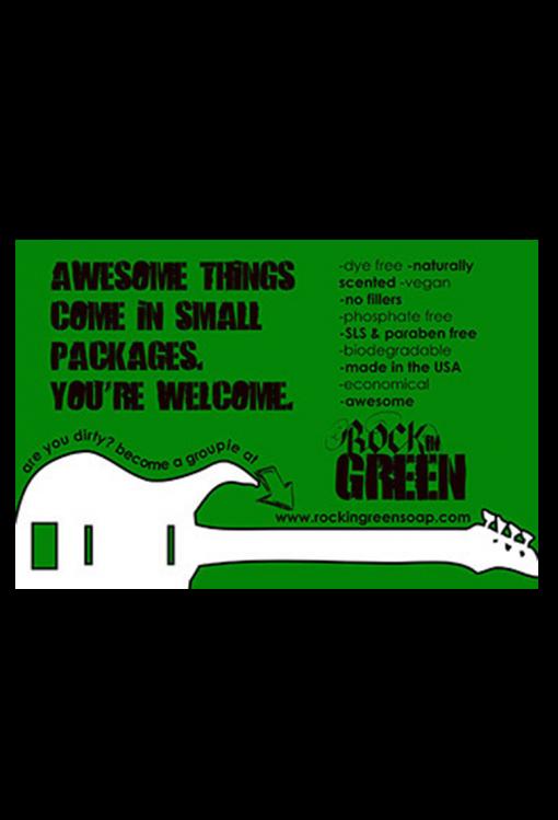 Rockin' Green Classic Rock Sample pack