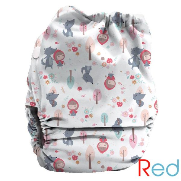 Bubblebubs PUL Candies Nappy Red