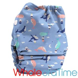 Bubblebubs PUL Candies Nappy Whale of a Time