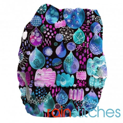 Bubblebubs PUL Candies Rain Stitches