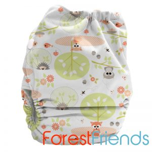 Bubblebubs Minky Candie Forest Friends