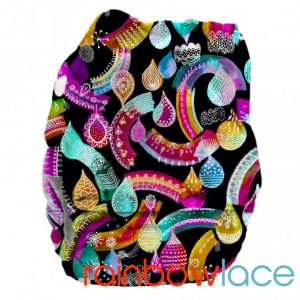Bubblebubs PUL Candies Rainbow Lace